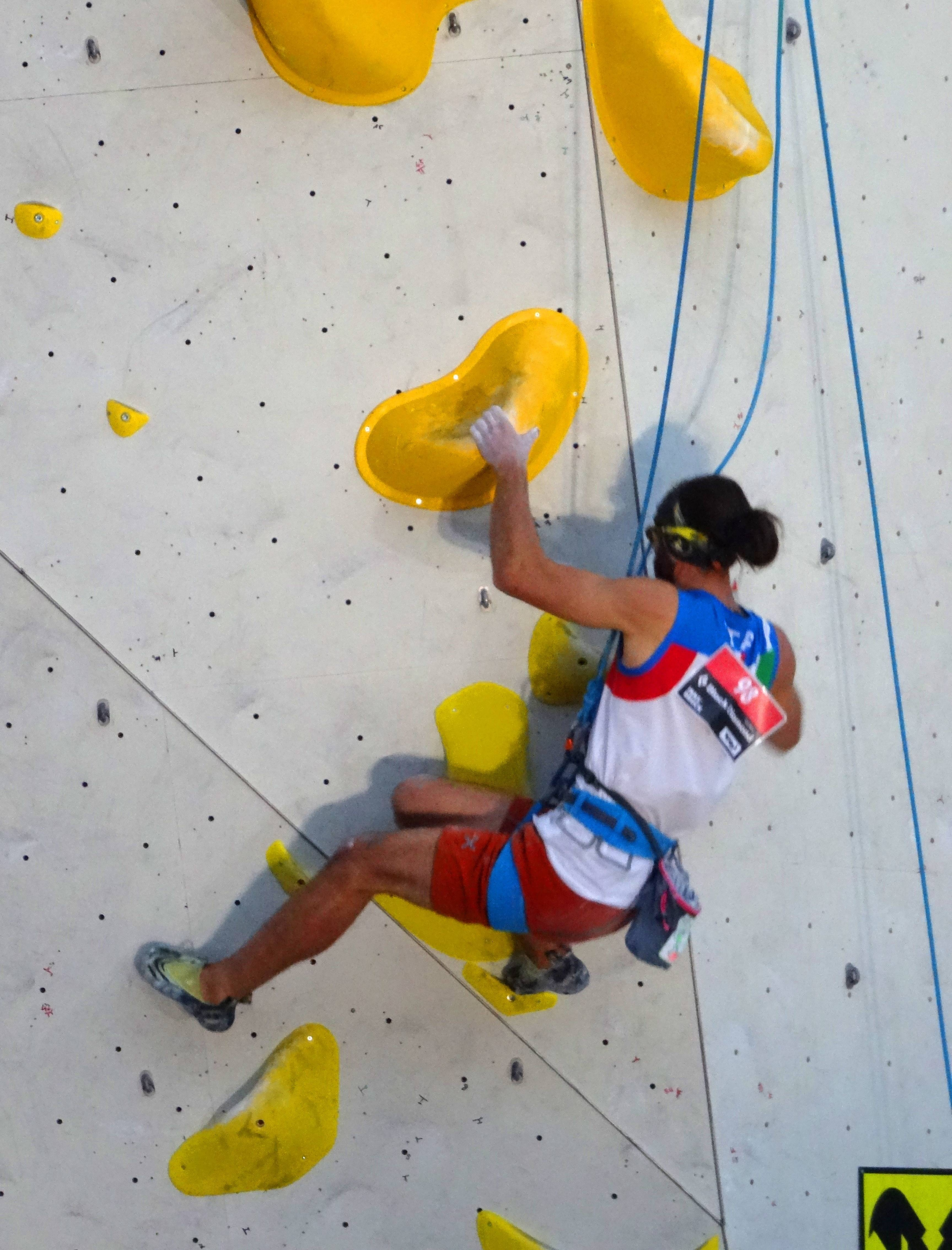 matteo stefani milano climbing expo urba wall