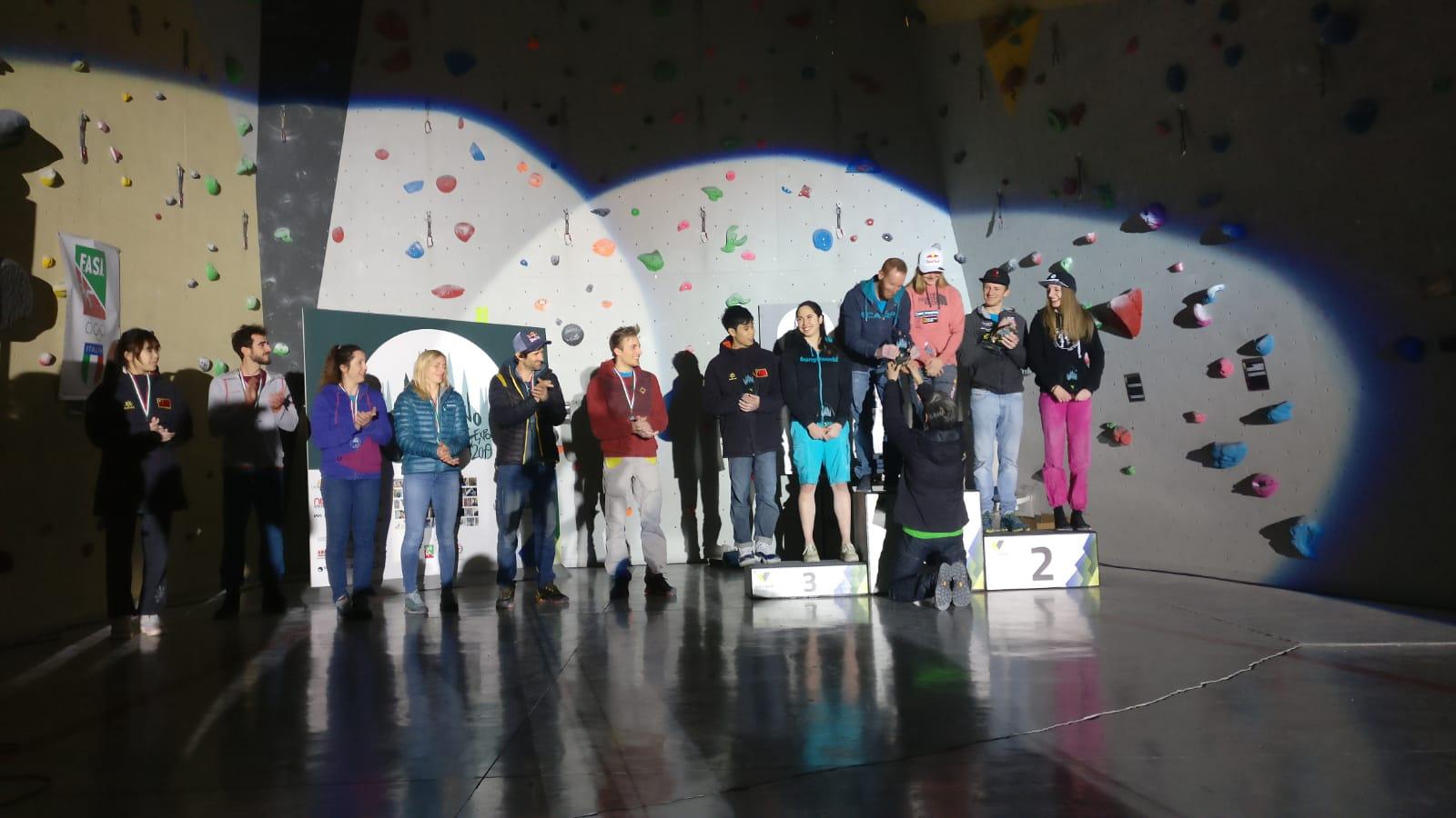 vincitori boulder milano climbing expo urban wall